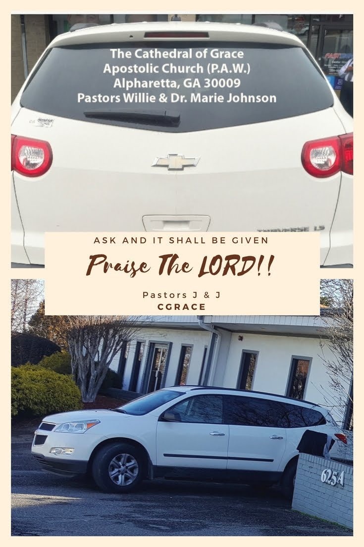 The Lord Has Blessed US WITH A NEW VAN!! Praise GOD